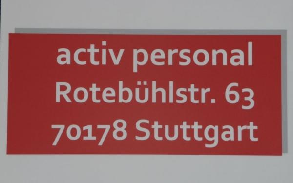 Activ Personal Stuttgart